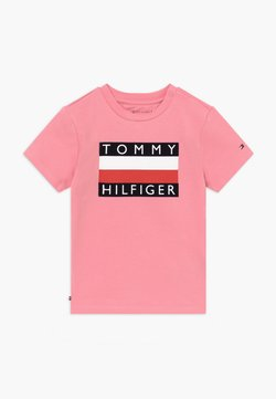 Tommy Hilfiger - BABY FLAG  - T-shirt print - pink