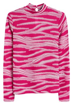 Next - METALLIC ZEBRA - Langarmshirt - pink