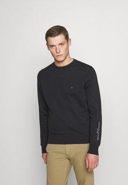 Tommy Hilfiger - TOMMY SLEEVE LOGO SWEATSHIRT - Sweatshirt - black