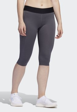 adidas Performance - Alphaskin Leggings - Pantalón 3/4 de deporte - Grey