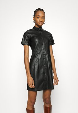 Dorothy Perkins - SEAM DRESS - Freizeitkleid - black