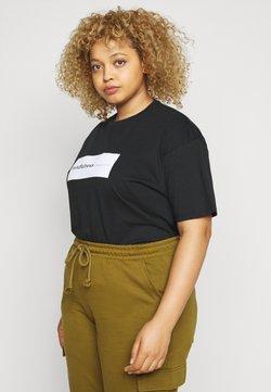 Simply Be - SLOGAN - T-Shirt print - black