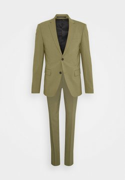 Lindbergh - PLAIN MENS SUIT - Traje - light army