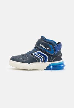 Geox - GRAYJAY BOY - Sneaker high - navy/royal