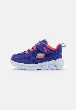 Skechers - MAGNA LIGHTS - Sneaker low - blue/coral