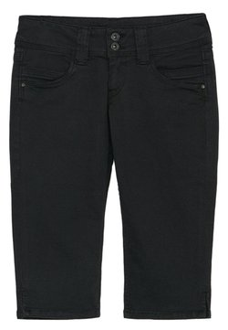 Pepe Jeans - VENUS CROP - Jeans Shorts - black