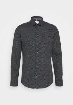 Seidensticker - SLIM KENT PATCH - Businesshemd - schwarz