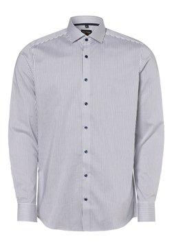 OLYMP - Hemd - weiß marine