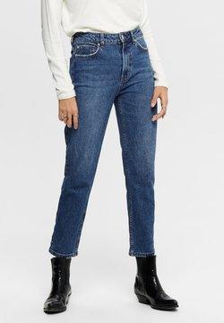ONLY - Straight leg jeans - dark blue denim