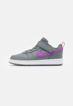 Nike Sportswear - COURT BOROUGH 2 - Sneakers laag - smoke grey/purple/watermelon/white