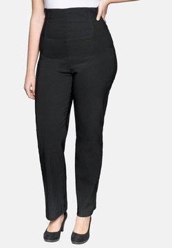 Sheego - BODYFORMING - Pantalones - black