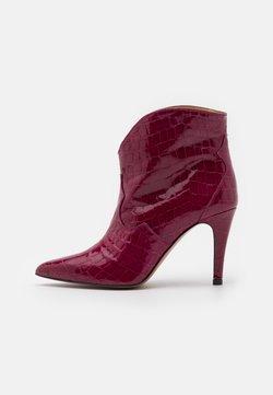 Toral - High Heel Stiefelette - algarve frambuesa