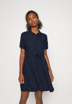 Vero Moda - VMDOLCA SHORT DRESS - Skjortekjole - navy blazer