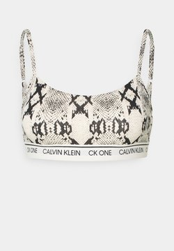 Calvin Klein Underwear - ONE PRIDE CAPSULE UNLINED BRALETTE - Alustoppi - oatmeal heather