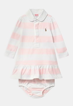 Polo Ralph Lauren - RUGBY SET - Vestido ligero - delicate pink/white