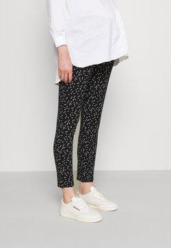 Envie de Fraise - OSCAR - Pantalon classique - black/off white dots