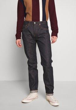 Edwin - REGULAR TAPERED - Jeans Straight Leg - raw statenihon menpu, dark pure indigo rainbow selvage, 13.5oz