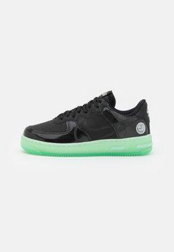 Nike Sportswear - AIR FORCE 1 REACT LV8 AS UNISEX - Sneakers laag - black/barely green