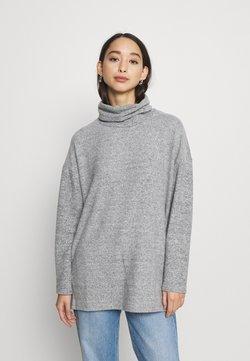 New Look - BELLA LONGLINE - Maglione - light grey