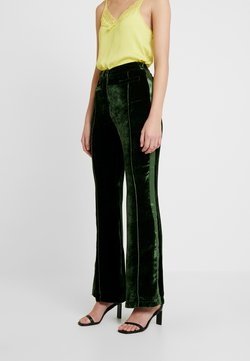 Ghost - EMILY TROUSERS - Stoffhose - dark green