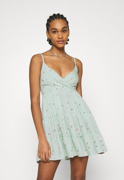 Hollister Co. - BARE FEMME SHORT DRESS - Vapaa-ajan mekko - mint
