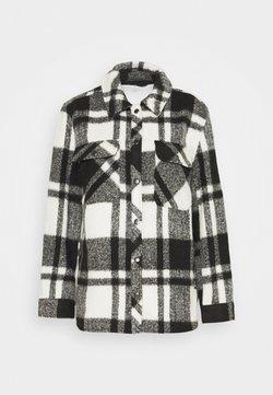 BDG Urban Outfitters - CHECK JACKET - Leichte Jacke - black/white