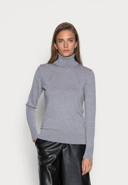 Calvin Klein - ROLL NECK - Strikpullover /Striktrøjer - medium grey heather