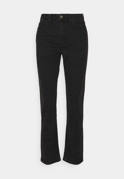 ONLY - ONLFINE HIGH WAISTED - Slim fit jeans - black denim