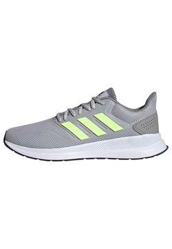 adidas Performance - RUNFALCON SHOES - Zapatillas de running estables - grey