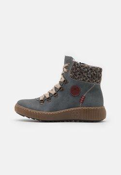 Rieker - Snowboot/Winterstiefel - jeans/terra/wine