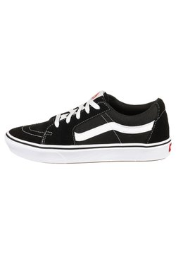 Vans - UA ComfyCush SK8-Low - Matalavartiset tennarit - black / true white