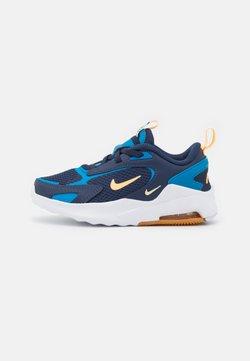 Nike Sportswear - AIR MAX BOLT UNISEX - Sneakersy niskie - midnight navy/melon tint/imperial blue/lightt brown