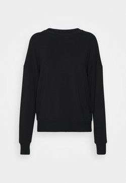 Marc O'Polo - CREW NECK LONG SLEEVE - Sweatshirt - black