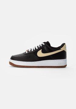 Nike Sportswear - AIR FORCE 1 - Sneaker low - black/solar flare-white-black-volt