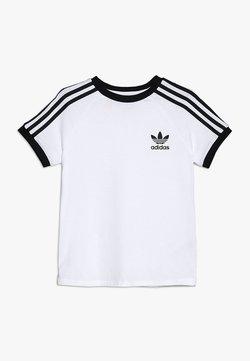 adidas Originals - STRIPES TEE - T-shirt imprimé - white/black