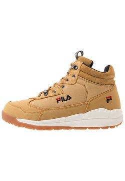 Fila - ALPHA MID - Sneaker high - chipmunk