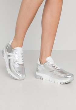 Tamaris - LACE-UP - Sneakers - silver/white