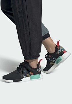 adidas Originals - NMD_R SHOES - Sneakersy niskie - black