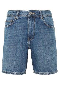 edc by Esprit - Denim-Short aus 100% Baumwolle - Jeansshort - blue