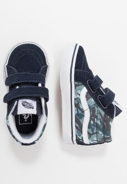 Vans - SK8 MID REISSUE  - Korkeavartiset tennarit - parisian night/true white