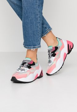Steve Madden - CHARGED - Sneakers laag - red/multicolor