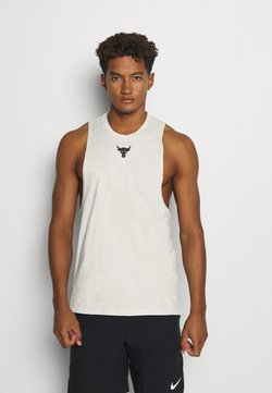 Under Armour - PROJECT ROCK TANK - Top - summit white