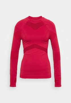 NU-IN - LONG SLEEVE COMPRESSION  - Longsleeve - red