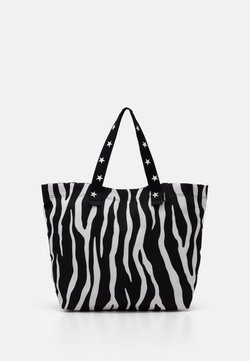Converse - TOTE - Shopping Bag - zebra leopard/star