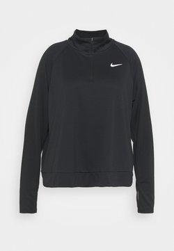 Nike Performance - PACER - Camiseta de manga larga - black/silver