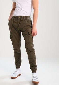 Urban Classics - JOGGING PANT - Cargo trousers - olive