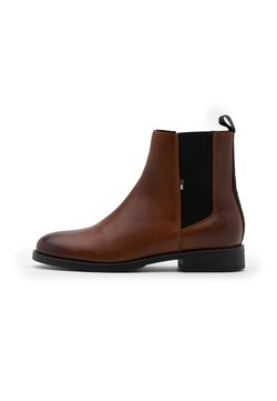 Tommy Jeans - ESSENTIAL DRESSED CHELSEA  - Stiefelette - winter cognac