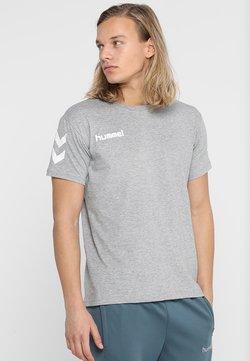 Hummel - T-shirt imprimé - grey melange