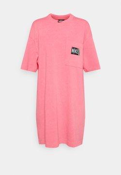 Nike Sportswear - Vestito di maglina - sunset pulse/black