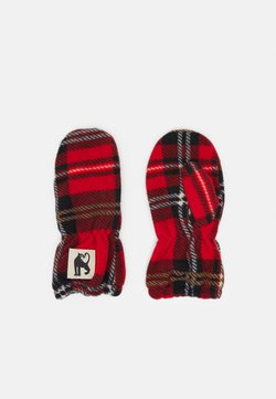 Mini Rodini - CHECK MITTENS UNISEX - Fäustling - red